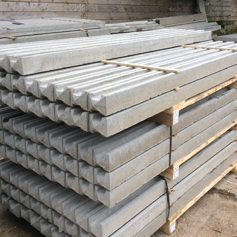 Concrete-Slotted-Posts